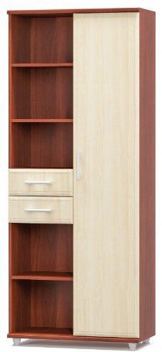 Шкаф 800 1Д+2Ш Омега