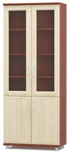 Шкаф витрина 800 2В+2Д Омега