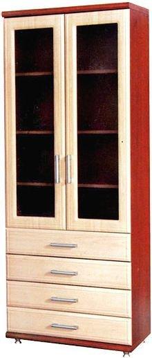 Шкаф витрина 800 2В+4Ш Омега