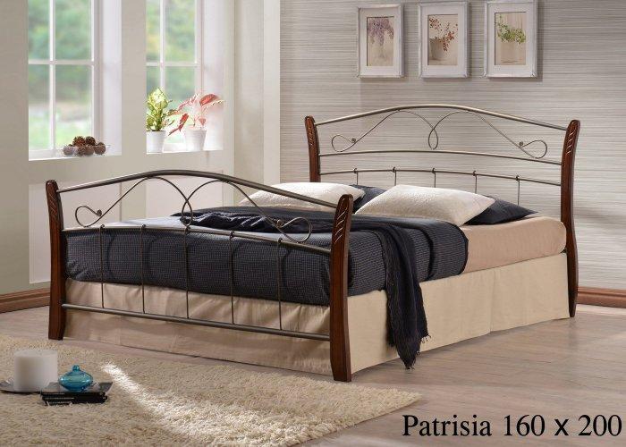 Двуспальная кровать  Patrisiya 200x160см