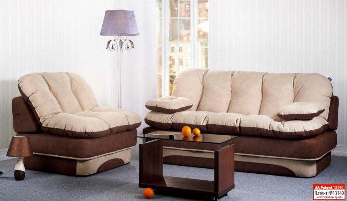 Бескаркасный диван Люсси 1,4