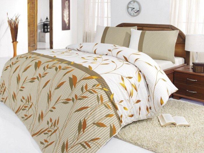 Полуторный комплект Hobby Ranforce Alinda коричневый