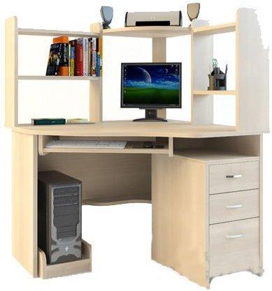 Стол компьютерный Компасс С215+надставка СЕ 215