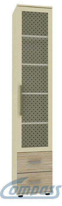 Стекло шкаф комбинированный Компасс КМ-06