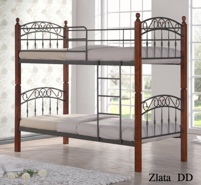 Кровать двухъярусная DD Zlata N (Злата Н) 190x90см