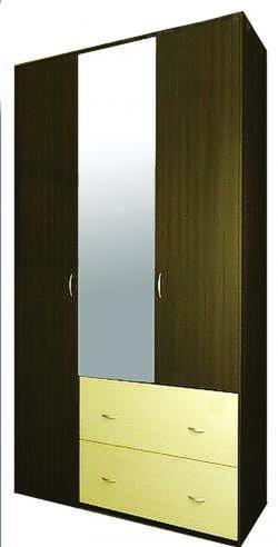 Шкаф 3-х дверный «Неаполь»