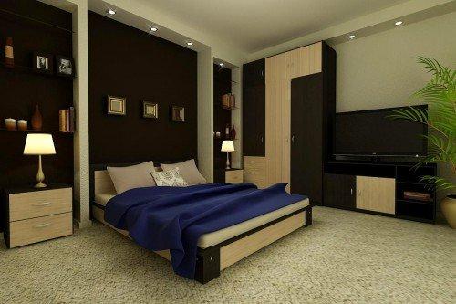 Модульная спальня «Парма»
