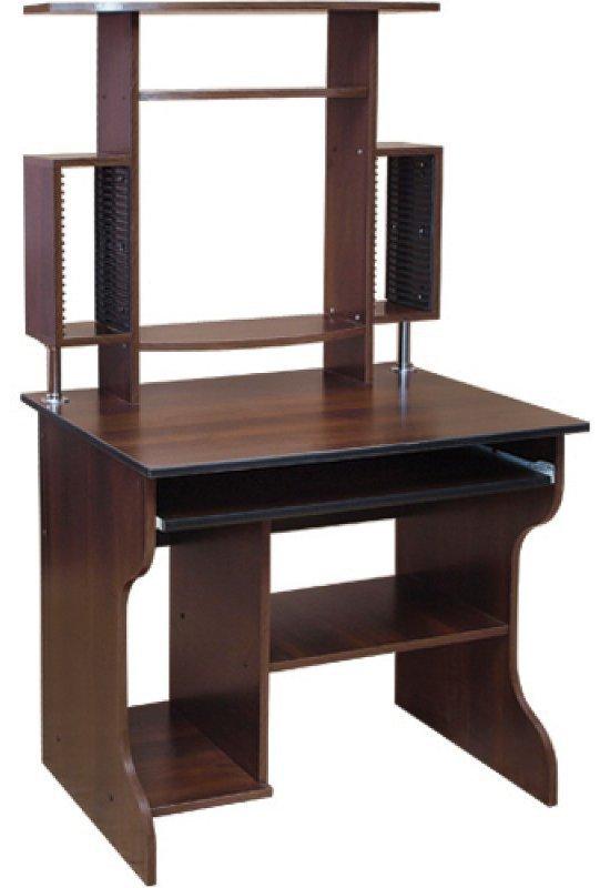 Компьютерный стол Юпитер (с надстройкой)