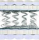 Двуспальный матрас Grand B3 — 160см