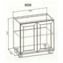 90 верх витрина кухня Анна
