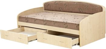 Односпальная кровать -диван Вадим - 90x190-200см