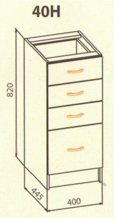 40 низ ящики кухня Оля Нова