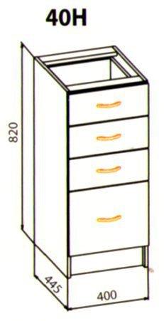 40 низ ящики кухня Оля