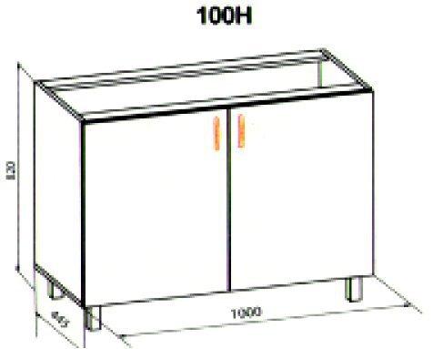 100 низ кухня Паула