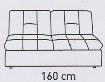 Модуль №3 к кожаному модульному диван у Мегапол