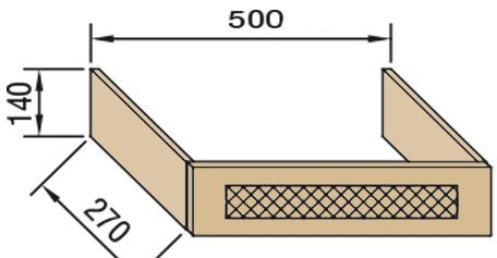 Панель над вытяжкой В50ФП Валенсия