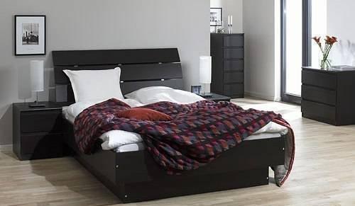Двуспальная кровать ЛДР-1 Латте - 180x200см