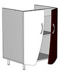 Модуль АЭ 602Н (без столешницы) кухни Аэлита