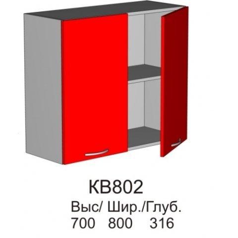 Шкаф верхний КВ 802 кухни Колибри