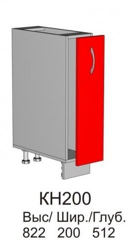 Шкаф нижний КН 200 кухни Колибри