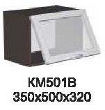 Модуль КМ 501 В (витрина) кухни Кармен