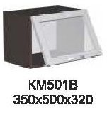 Модуль КМ 501 В (фронт-витрина) кухни Кармен