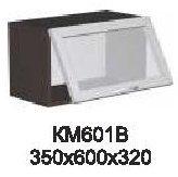 Модуль КМ 601 В (фронт-витрина) кухни Кармен