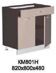 Модуль КМ 801 Н (без столешницы) кухни Кармен