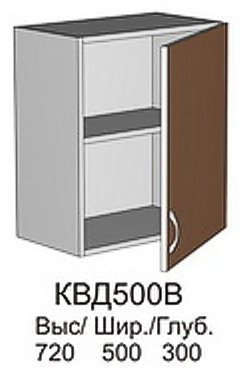 Модуль КВД 500 В кухни Квадро