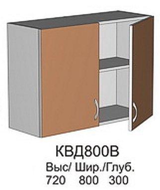 Модуль КВД 800 В кухни Квадро