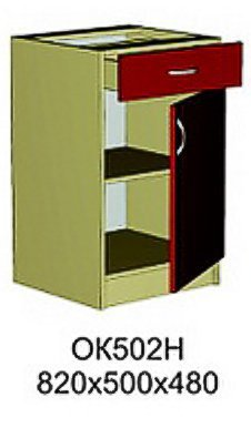 Модуль ОК 502 Н кухни Октавия