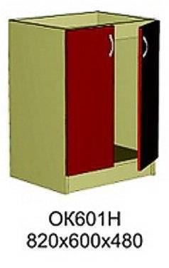 Модуль ОК 601 Н кухни Октавия