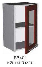 Модуль БВ 401 витрина кухни Бордо