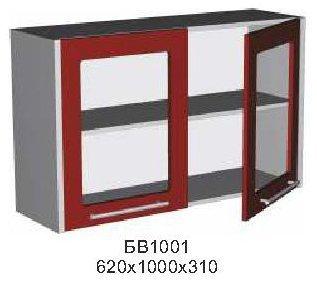 Модуль БВ 1001 витрина кухни Бордо