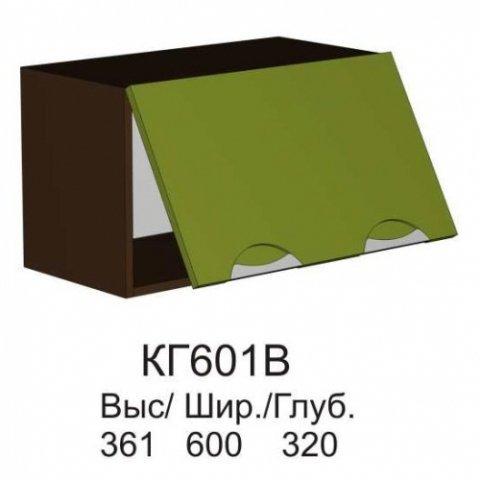 Шкаф верхний КГ 601 В кухни Конго