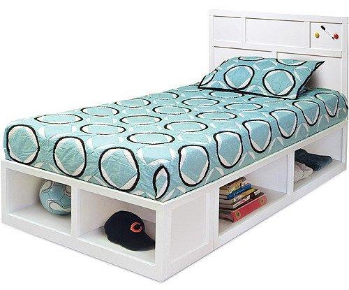 Односпальная кровать ДЛ-4 Элисон - 90x190см