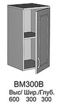 Модуль СВ 300В кухни Саванна