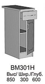 Модуль СВ 301Н кухни Саванна