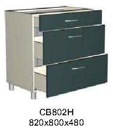 Модуль СВ 802Н кухни Саванна