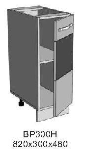 Модуль ВР 300Н кухни Верона