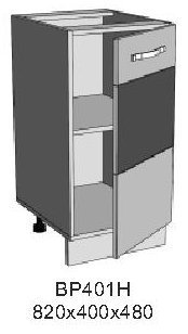 Модуль ВР 401Н кухни Верона