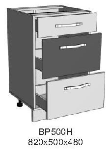 Модуль ВР 500Н кухни Верона