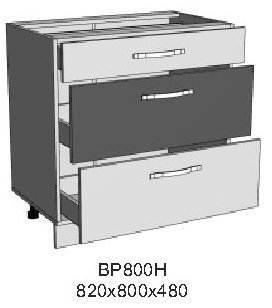 Модуль ВР 800Н кухни Верона