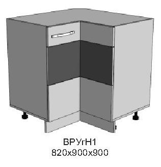 Модуль ВР УглН1 кухни Верона