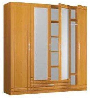 Шкаф 4-х дв. спальни Квадро