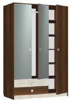 Шкаф трехдверный МР2 спальни Марта