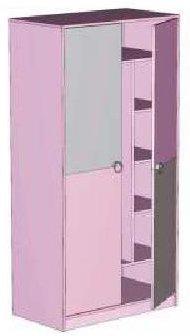 Шкаф детской Пинк