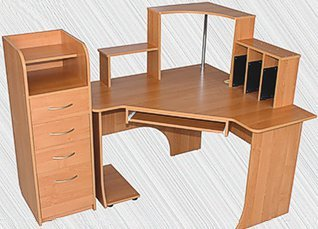 Стол компьютерный угловой «Консул»