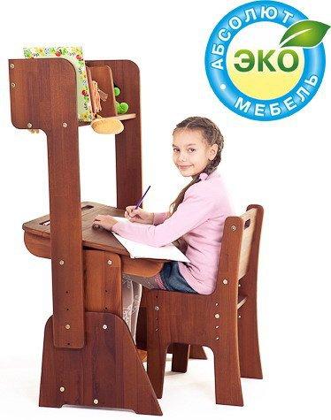 Комплект Школярик парта С-890 + стул С-887 + надстройка H-891