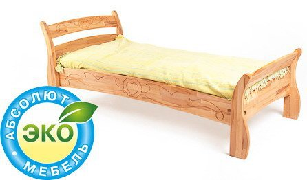 Кровать Буковка Б-12 190х80см